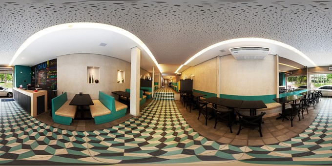 Projeto Arquitetura Restaurante Blu