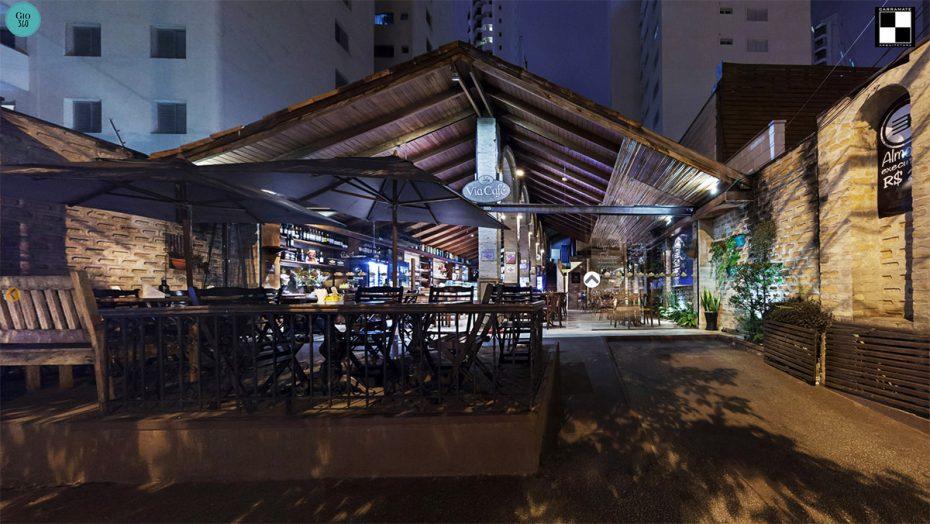 Projeto Arquitetura Via Café