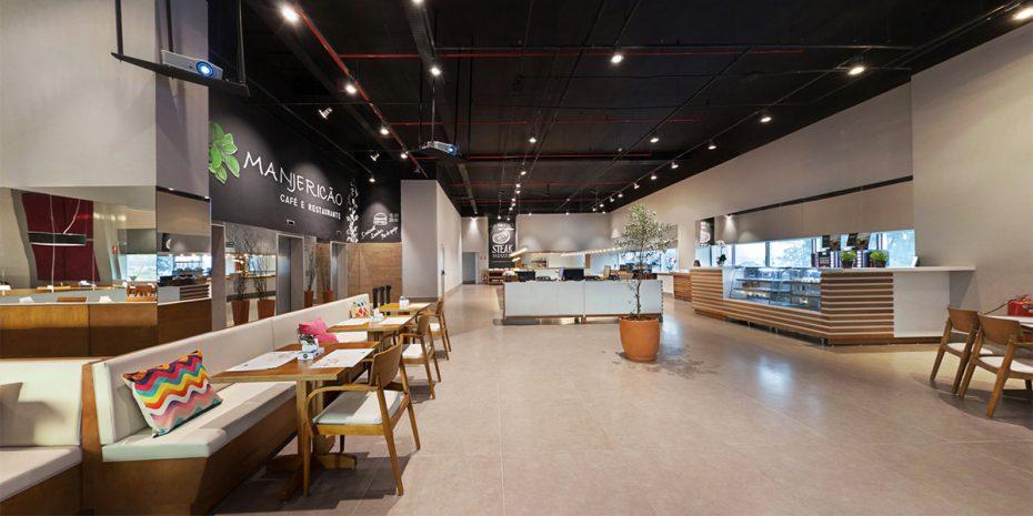 Projeto Arquitetura Restaurante Manjericão