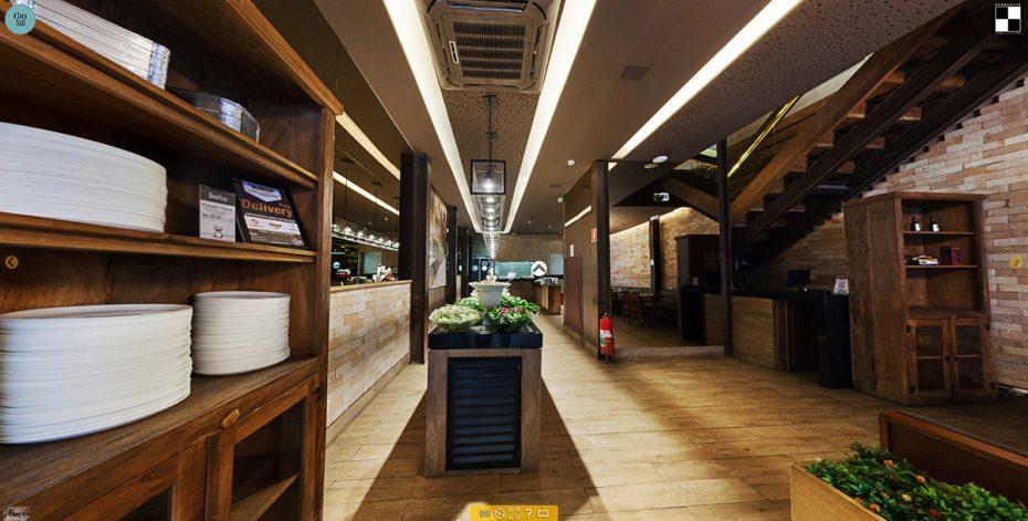 Projeto Arquitetura Restaurante Pasto e Pizzas
